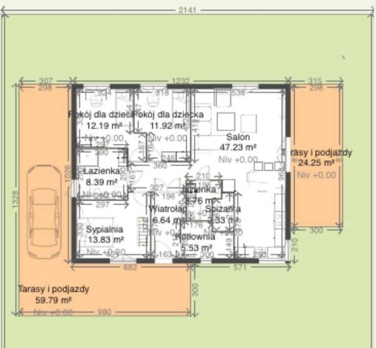 Działka budowlana na sprzedaż Suszki  1171m2 Foto 9