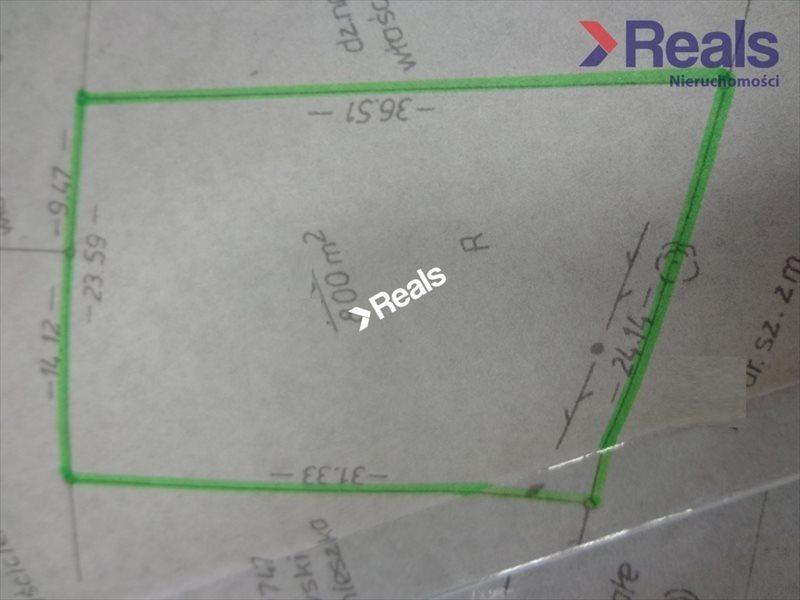 Działka budowlana na sprzedaż Prace Duże  800m2 Foto 3