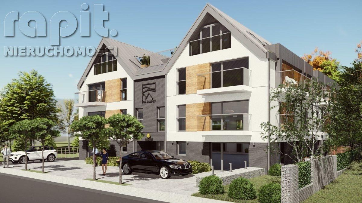 Mieszkanie trzypokojowe na sprzedaż Myślenice  60m2 Foto 1
