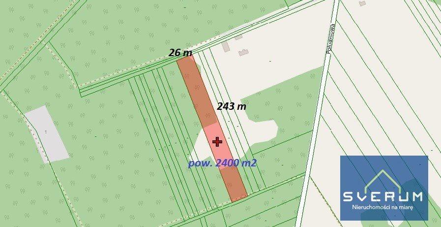 Działka rolna na sprzedaż Garnek, Poprzeczna  6400m2 Foto 1