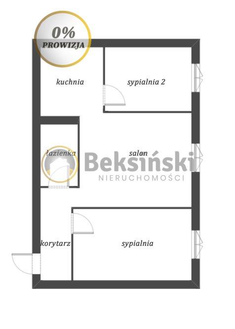 Mieszkanie trzypokojowe na sprzedaż Skarżysko-Kamienna, Sokola  45m2 Foto 10