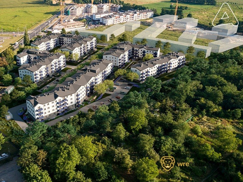 Mieszkanie dwupokojowe na sprzedaż Wrocław, Oporów, Ibn Siny Awicenny  42m2 Foto 6