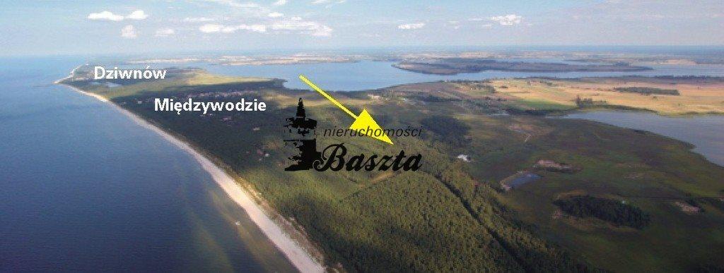 Działka budowlana na sprzedaż Międzywodzie  1829m2 Foto 8