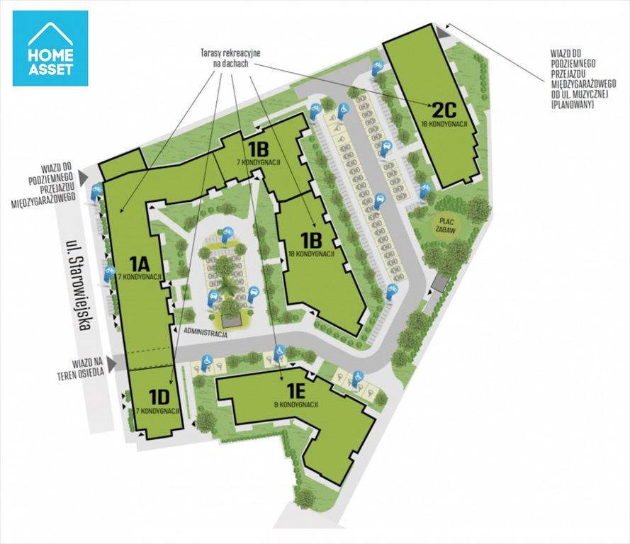 Mieszkanie trzypokojowe na sprzedaż Gdańsk, Letnica, Starowiejska  54m2 Foto 10