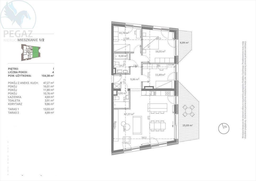 Mieszkanie czteropokojowe  na sprzedaż Poznań  104m2 Foto 4