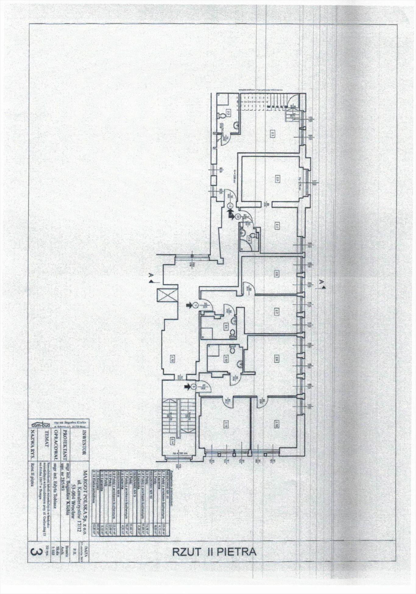 Mieszkanie trzypokojowe na sprzedaż Brzeg, Grabarska  53m2 Foto 6