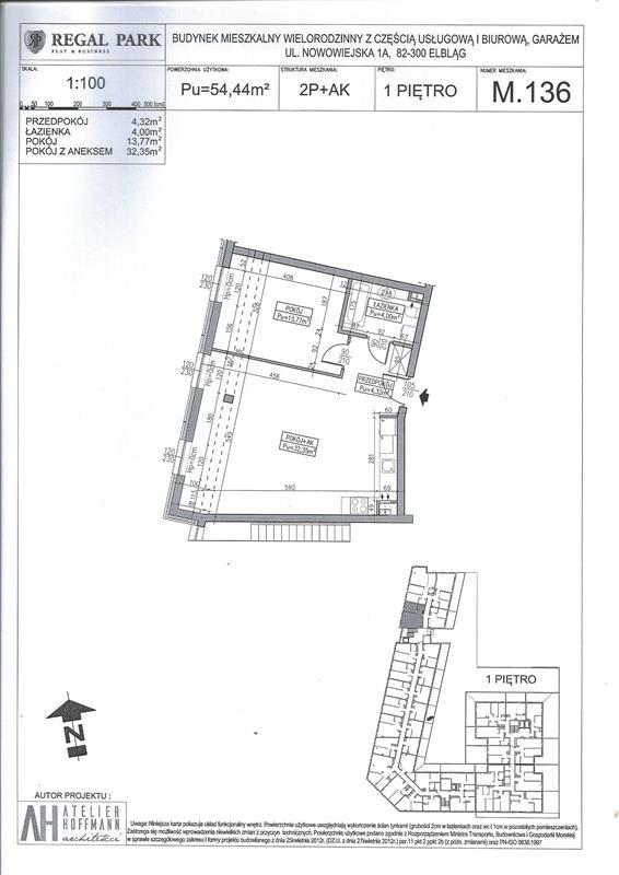 Mieszkanie trzypokojowe na sprzedaż Elbląg, Regal Park, Regal Park, Nowowiejska 1A  84m2 Foto 8