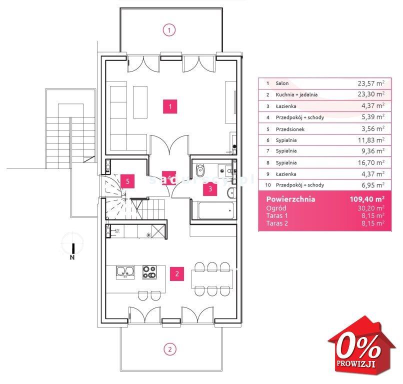 Mieszkanie czteropokojowe  na sprzedaż Wieliczka, Wieliczka, Wieliczka, Chabrowa - okolice  109m2 Foto 3