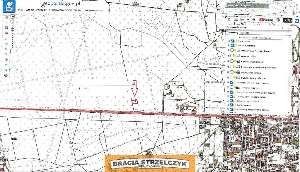 Działka leśna na sprzedaż Warszawa, Wawer, Anin  3063m2 Foto 2