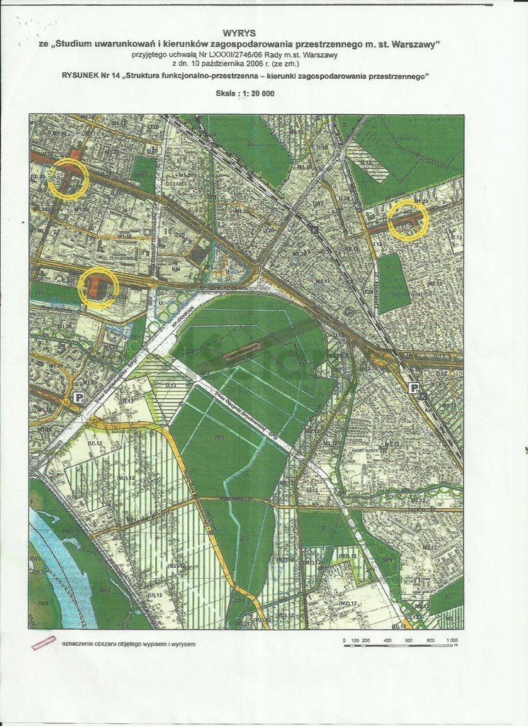Działka komercyjna na sprzedaż Warszawa, Wawer  31680m2 Foto 1