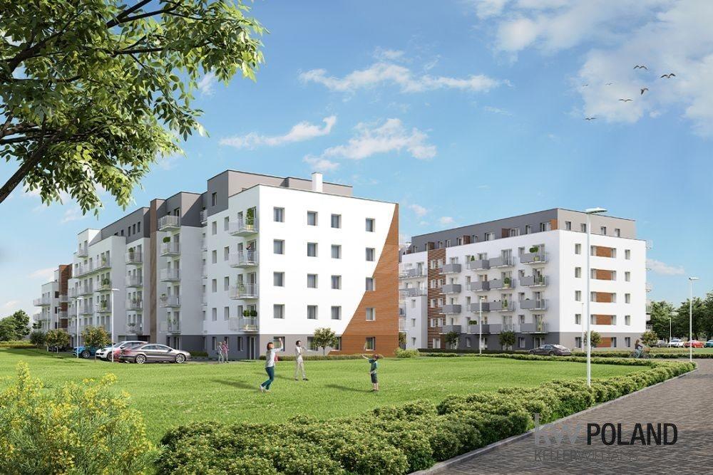Mieszkanie trzypokojowe na sprzedaż Poznań, Nowe Miasto, abpa Walentego Dymka  50m2 Foto 1