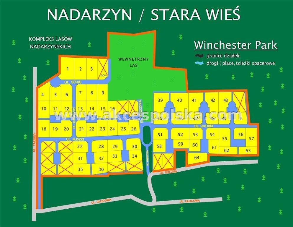 Działka budowlana na sprzedaż Stara Wieś, Sikorki  1064m2 Foto 1