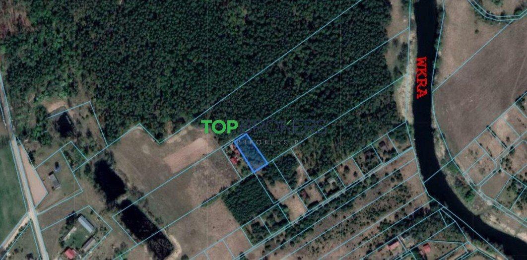 Działka leśna na sprzedaż Popielżyn-Zawady  1100m2 Foto 1