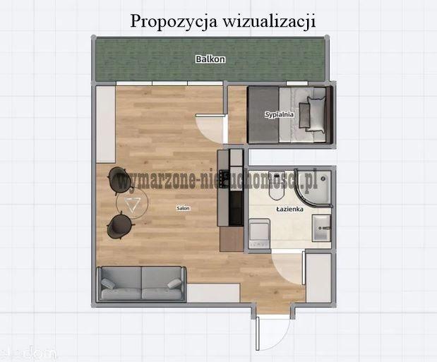 Kawalerka na sprzedaż Warszawa, Ochota, Winnicka  25m2 Foto 9