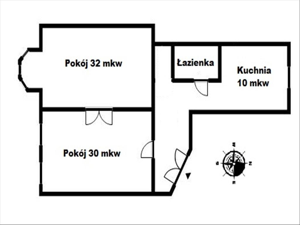 Mieszkanie dwupokojowe na sprzedaż Łódź, Łódź, Pomorska  82m2 Foto 9