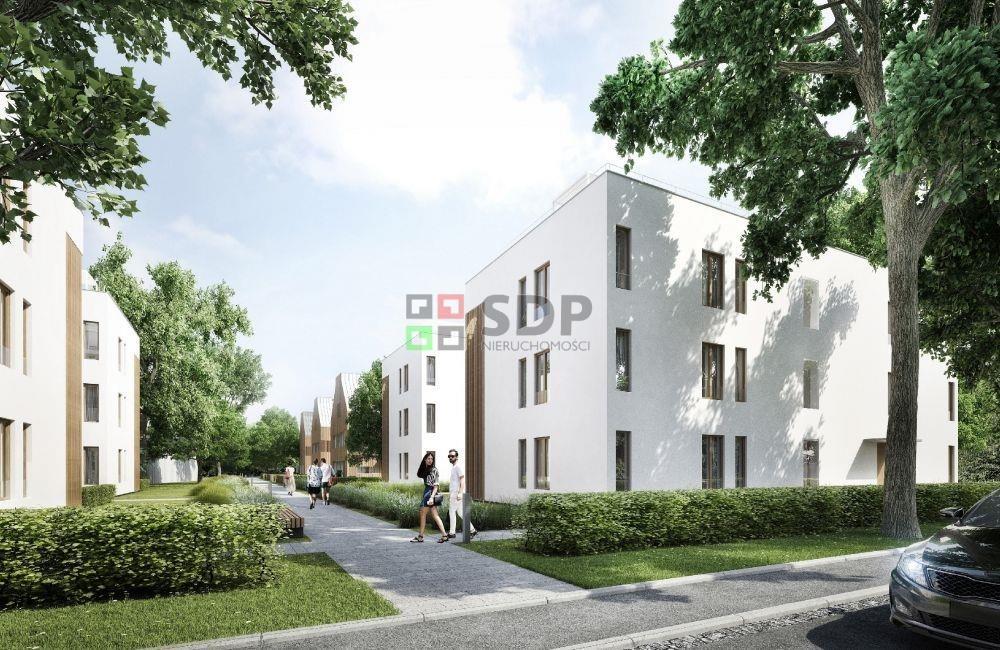Mieszkanie trzypokojowe na sprzedaż Wrocław, Krzyki, Borek  52m2 Foto 2