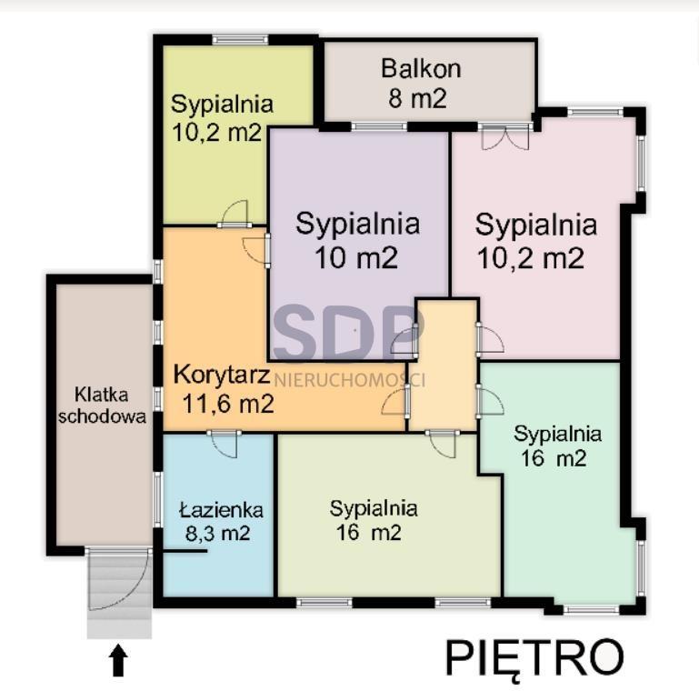Dom na sprzedaż Wrocław, Śródmieście, Biskupin, Pugeta Ludwika  300m2 Foto 7