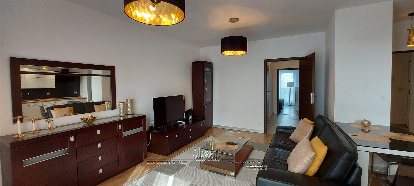 Mieszkanie trzypokojowe na wynajem Katowice, Dąb, Johna Baildona  71m2 Foto 2