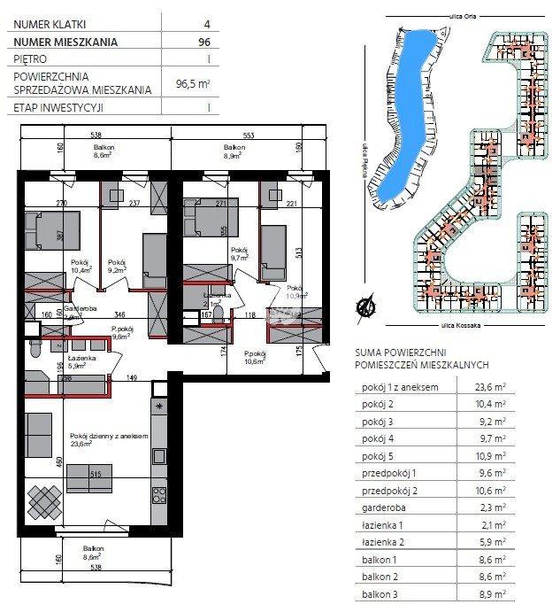Mieszkanie trzypokojowe na sprzedaż Bydgoszcz, Szwederowo, Piękna  97m2 Foto 11