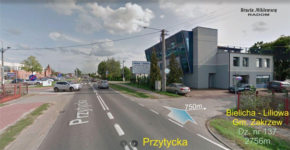 Działka budowlana na sprzedaż Bielicha, Liliowa  2756m2 Foto 2