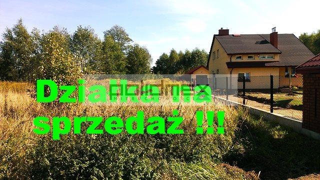 Działka budowlana na sprzedaż Budy-Grzybek, Heleny Modrzejewskiej  959m2 Foto 1