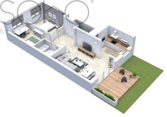 Mieszkanie trzypokojowe na sprzedaż Dachowa  70m2 Foto 5
