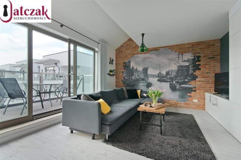 Mieszkanie dwupokojowe na wynajem Gdańsk, Śródmieście, WATERLANE, SZAFARNIA  50m2 Foto 2