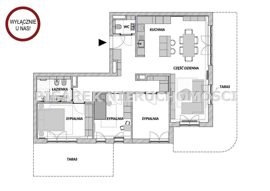 Mieszkanie na sprzedaż Zamienie, Edisona  94m2 Foto 6