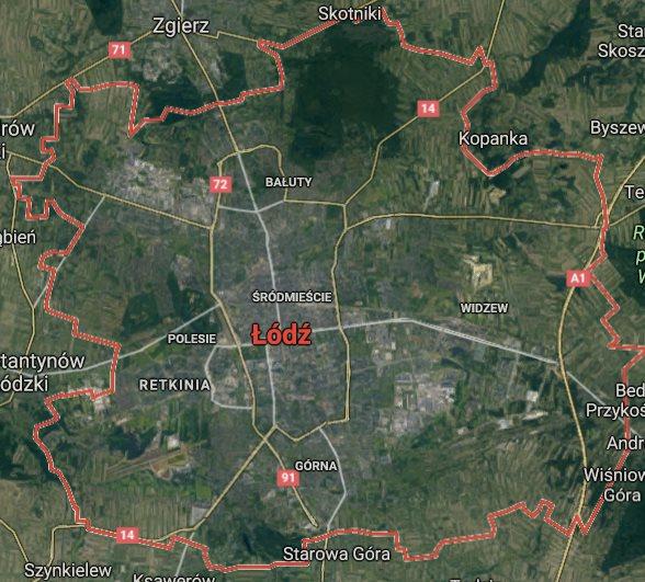Działka inna na sprzedaż Łódź, Bałuty, Zgierska  1017m2 Foto 1