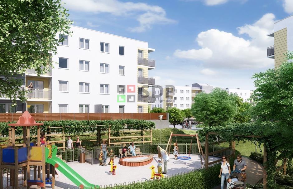 Mieszkanie dwupokojowe na sprzedaż Wrocław, Jagodno  52m2 Foto 1