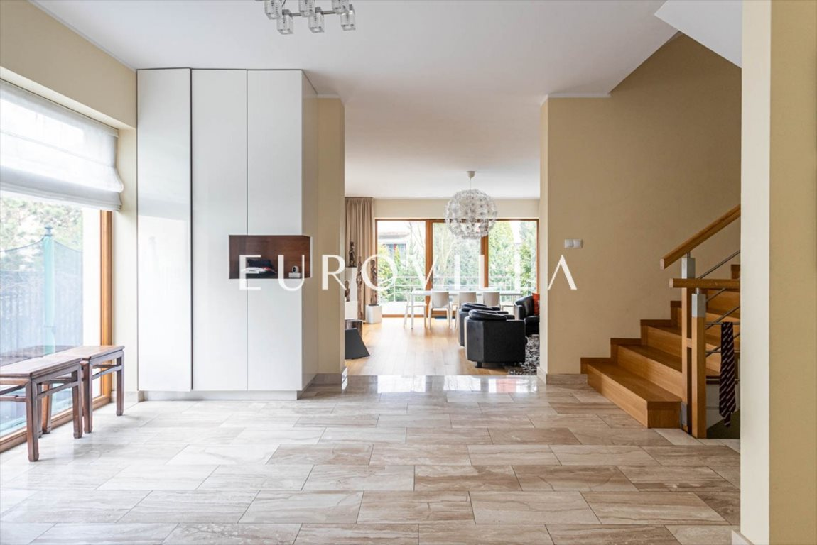 Luksusowy dom na sprzedaż Warszawa, Wilanów, Obornicka  380m2 Foto 4