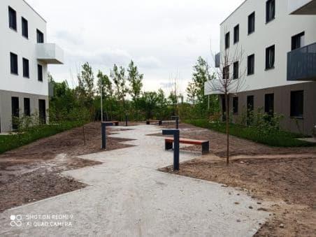 Mieszkanie trzypokojowe na sprzedaż Wrocław, Wrocław-Fabryczna, Muchobór Wielki, Stanisława Kunickiego  60m2 Foto 3