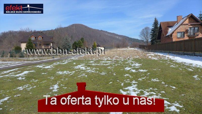 Działka budowlana na sprzedaż Jeleśnia  1371m2 Foto 1