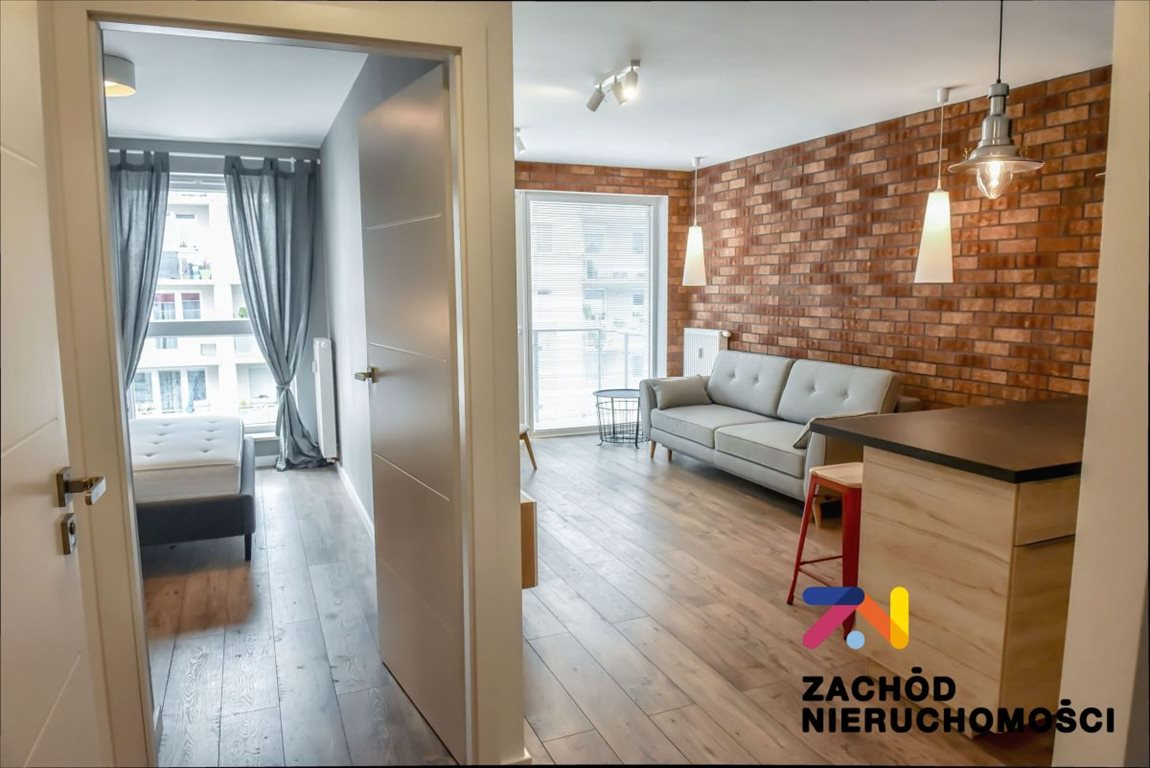 Mieszkanie dwupokojowe na wynajem Zielona Góra, Jędrzychów, Emilii Plater  43m2 Foto 12