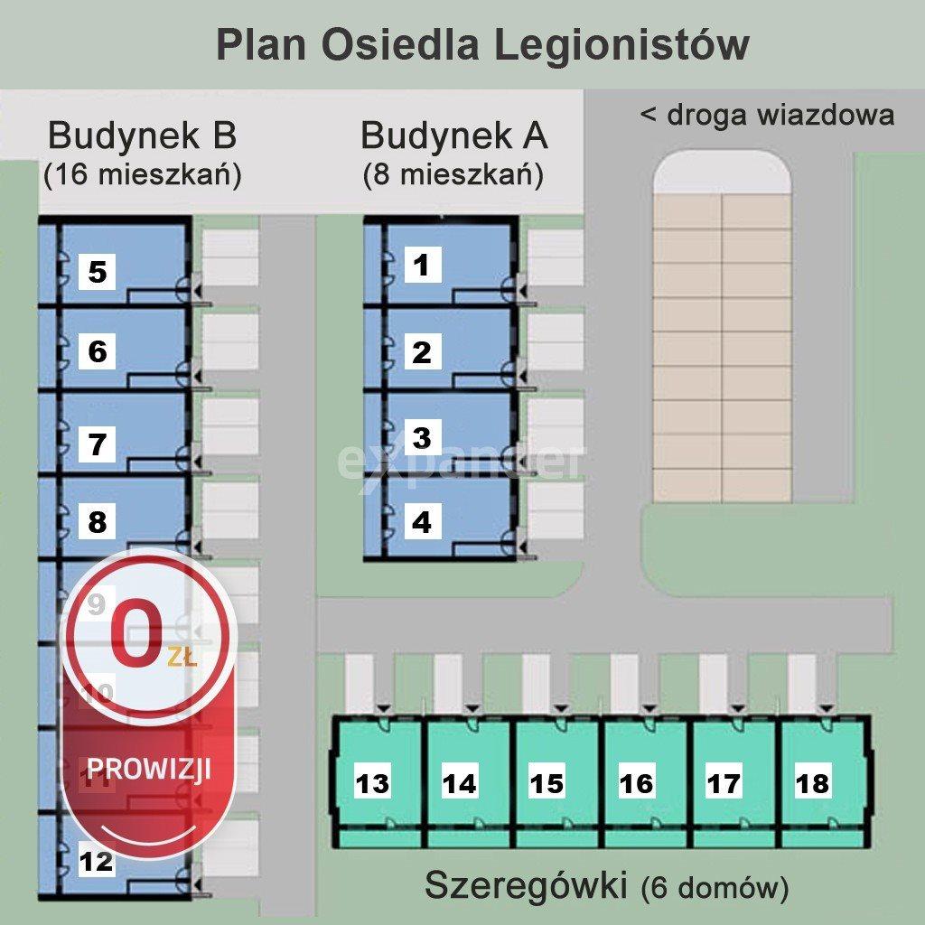 Mieszkanie trzypokojowe na sprzedaż Rzeszów, Budziwój, Legionistów  63m2 Foto 4