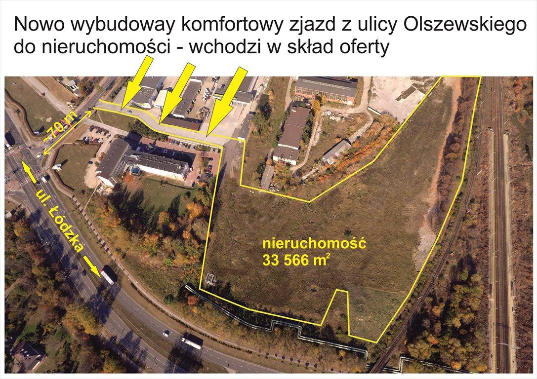 Działka inwestycyjna na sprzedaż Kielce, Olszewskiego  33566m2 Foto 4