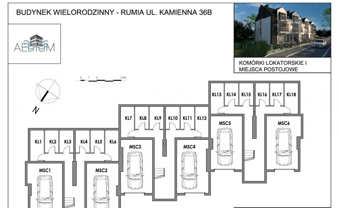 Mieszkanie dwupokojowe na sprzedaż Rumia, Kamienna 36B  48m2 Foto 2