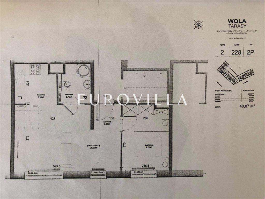 Mieszkanie dwupokojowe na sprzedaż Warszawa, Wola, Obozowa  41m2 Foto 10