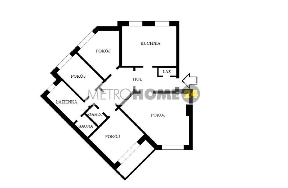 Mieszkanie czteropokojowe  na wynajem Warszawa, Ursynów, ul. Stefana Dembego  149m2 Foto 12