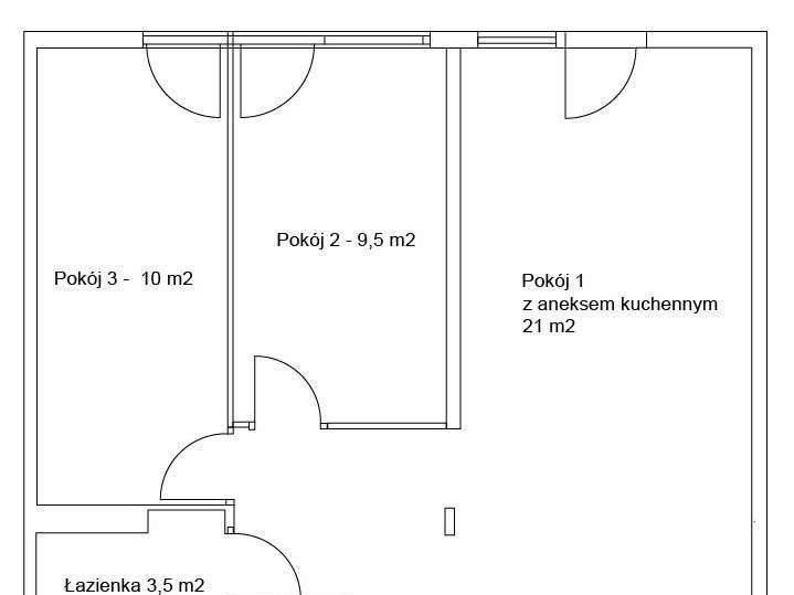 Mieszkanie trzypokojowe na sprzedaż Warszawa, Wola, Wolska Żelzna Brama, Waliców 20  48m2 Foto 8