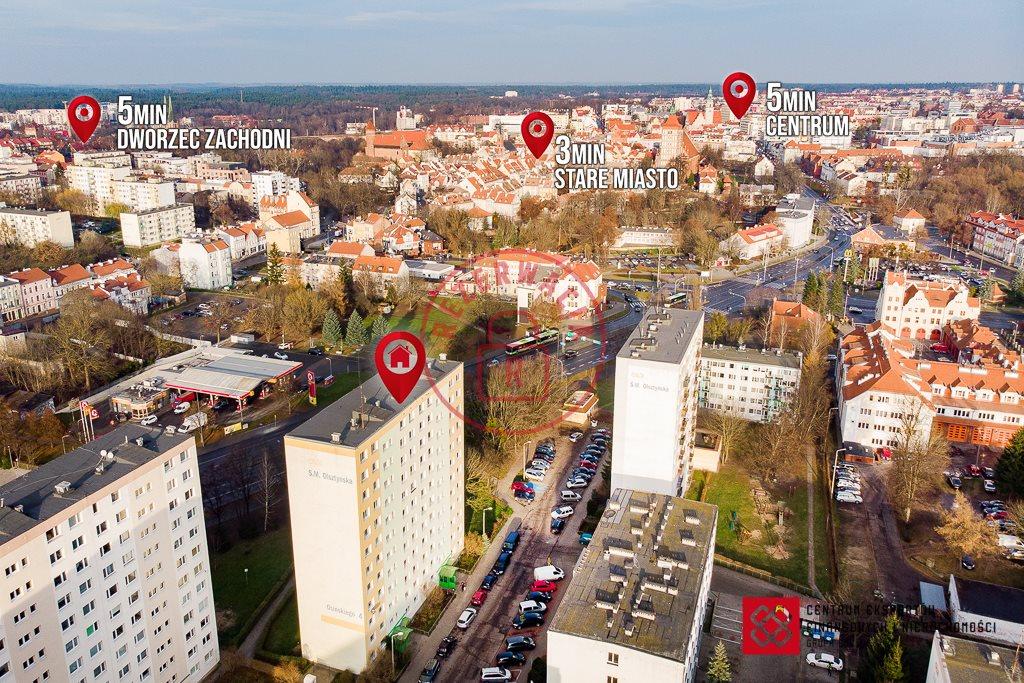 Mieszkanie trzypokojowe na sprzedaż Olsztyn, ks. Wacława Osińskiego  61m2 Foto 1