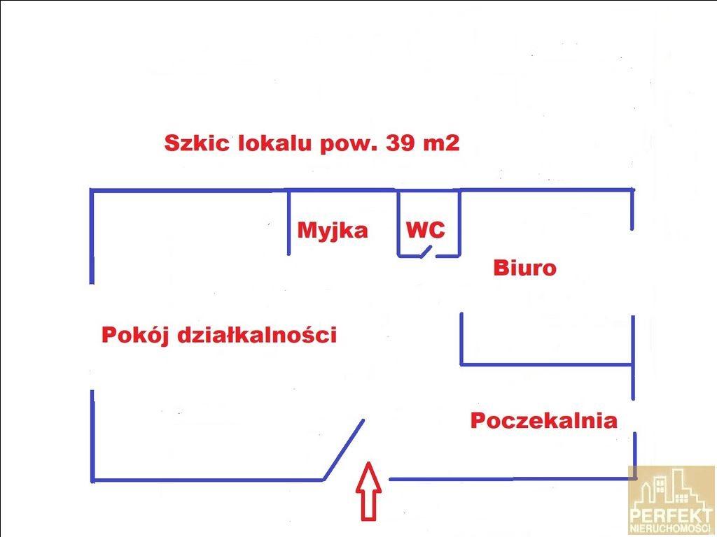 Lokal użytkowy na sprzedaż Olsztyn, Pojezierze, Dworcowa  39m2 Foto 2