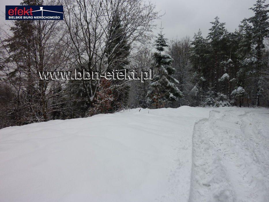 Działka leśna na sprzedaż Międzybrodzie Bialskie  3600m2 Foto 8