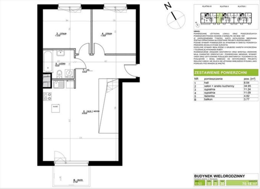 Mieszkanie czteropokojowe  na sprzedaż Konstancin-Jeziorna, Konstancin, Warszawska  122m2 Foto 6