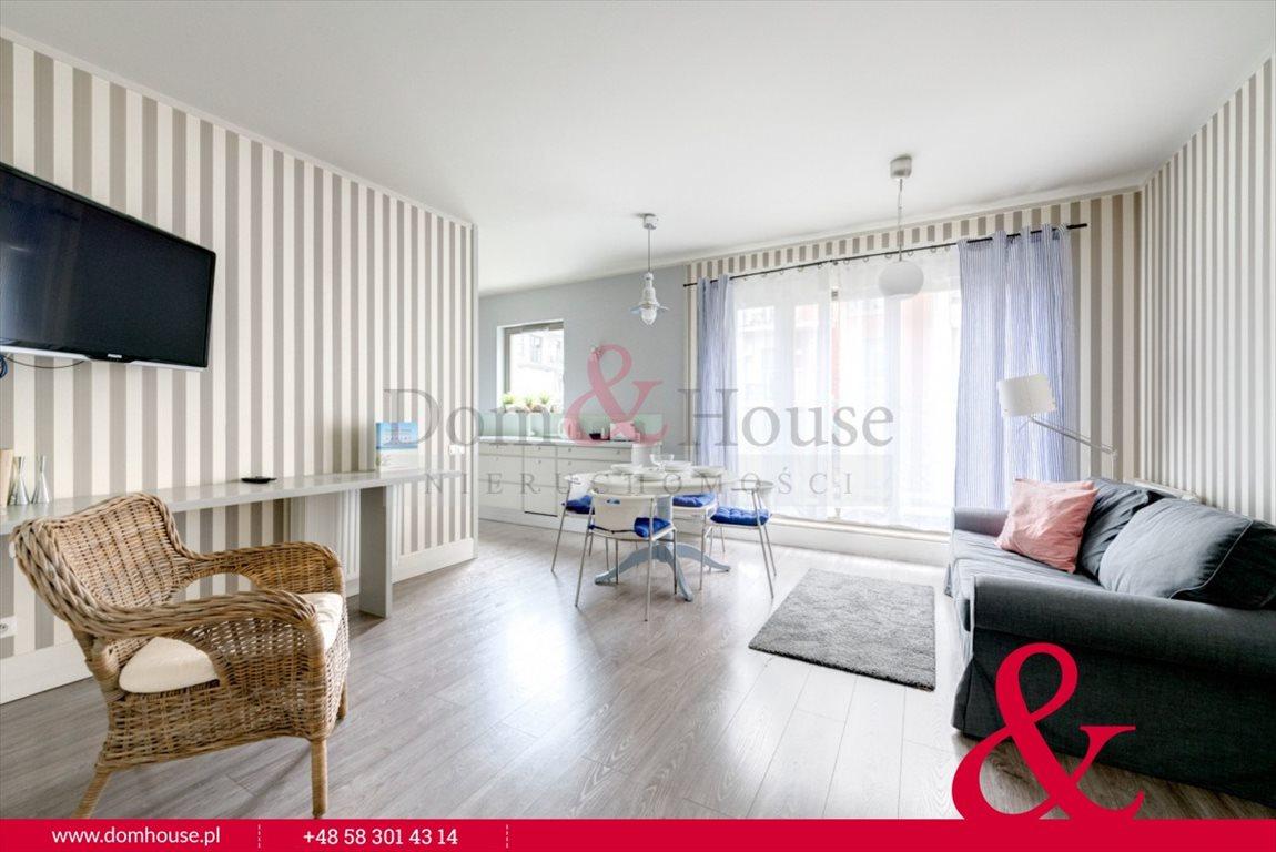 Mieszkanie dwupokojowe na wynajem Gdańsk, Śródmieście, Szafarnia  50m2 Foto 1