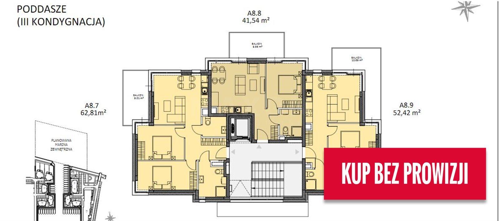 Mieszkanie trzypokojowe na sprzedaż Gdańsk, ul. Nadwiślańska  77m2 Foto 12
