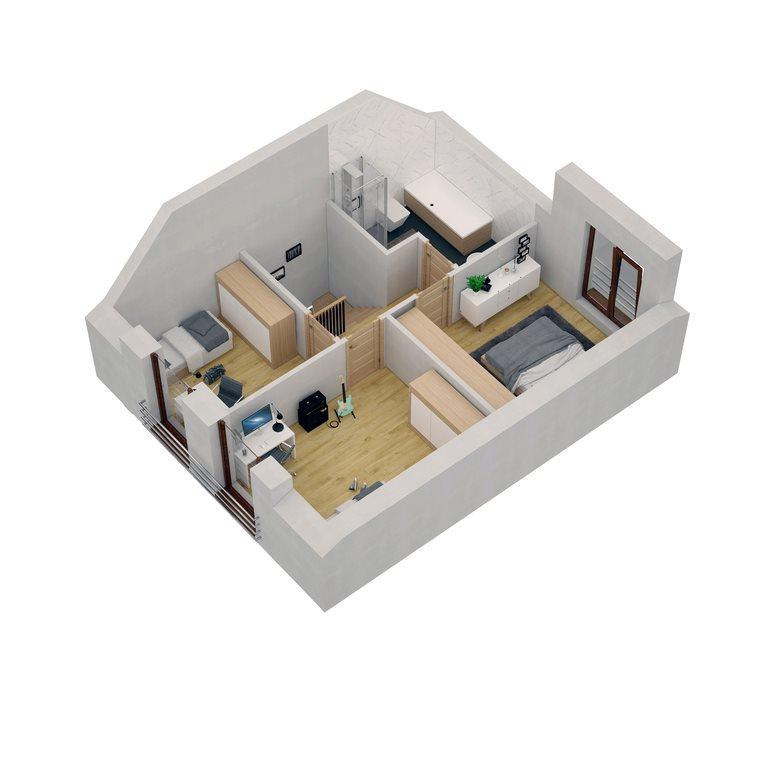 Dom na sprzedaż Koziegłowy  91m2 Foto 12