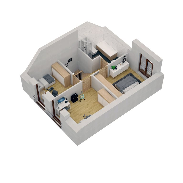 Dom na sprzedaż Złotniki  91m2 Foto 9