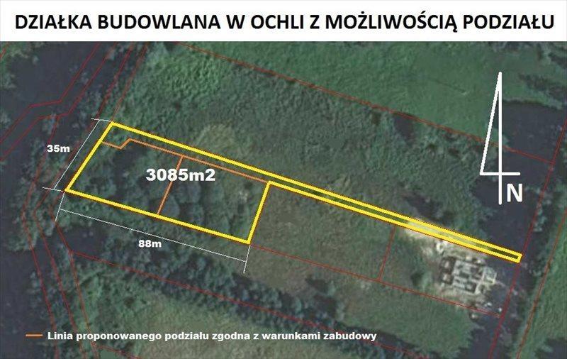 Działka budowlana na sprzedaż Zielona Góra, Ochla  3085m2 Foto 2