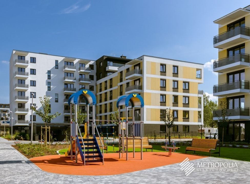 Mieszkanie dwupokojowe na sprzedaż Kraków, Łagiewniki-Borek Fałęcki, Osiedle Cegielniana  48m2 Foto 1